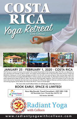 2020 Costa Rica yoga retreat